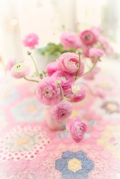 by lucia and mapp Ranunculus Flowers, D Flowers, Flower Vases, Flower Arrangements, Beautiful Flowers, Peonies, Pink Love, Pretty In Pink, Sheep And Wool Festival