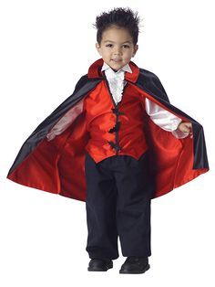Vampire Toddler Costume! See more #costume ideas for Halloween and more at CostumeSuperCenter.com