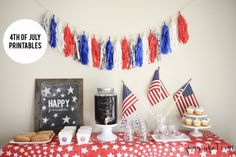 4th of July Printables - http://jennycollier.com/?p=12478