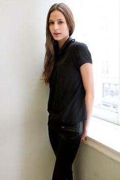 Jeanne Cadieu polaroids (Polaroids/Digitals) Polaroids, French Style, Turtle Neck, Sweaters, Dresses, Women, Fashion, Vestidos, Moda