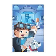 TheDiamondMinecart - In the Lab Poster