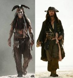 two amazingly awesome characters. OH they seem to be played by the same person, that person  MUST BE FABULOUS!!!