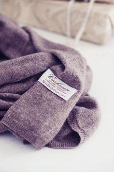 Heather - cashmere scarf