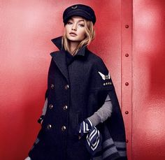Gigi Hadid x Tommy Hilfiger : le lookbook de la collection >> www.taaora.fr/...