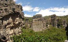Estoraques parque natural - COLOMBIA