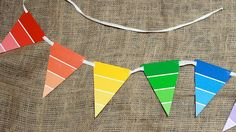 Paint Swatch Banner . Art Birthday Party . PBS Parents | PBS