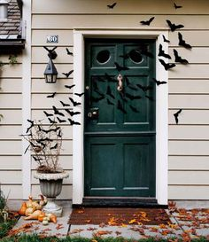 halloween door cover decorations - Google Search
