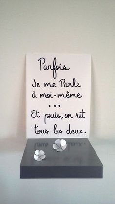 "Quotes and inspiration about Life QUOTATION - Image : As the quote says - Description affiche citation humour "" Parfois je me parle à Daily Quotes, Love Quotes, Quote Citation, Thinking Quotes, French Quotes, Some Words, Positive Attitude, Positive Affirmations, Funny Images"