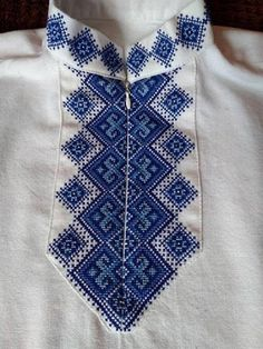 Modern Embroidered Shirt for Boys and Men +POSTCARD Vyshyvanka Shirt with Zipper  Ukrainian Handmade Embroidered patterns