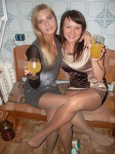 Think, that alcohol in pantyhose blonde