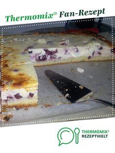 Quark-Kirsch-Blechkuchen von PetraK. Ein Thermomix ® Rezept aus der Kategorie Backen süß auf www.rezeptwelt.de, der Thermomix ® Community.