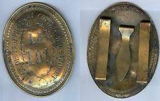Plaque de métier/chasse vénerie - Garde des proprièé du comte de Wignacourt