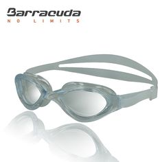Barracuda Swim Goggle BLISS – One-piece Frame, Anti-fog UV Protection, Easy adjusting Quick Fit Lightweight Comfortable No leaking, Triathlon Open Water for Adults Men Women #73320