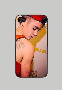 Justin Bieber iPhone 4 / 4S Case iPhone 5 by StyleCase on Etsy, $10.99! ok I LOVE Justin Bieber but I don't think I would have my Iphone case of him ;)