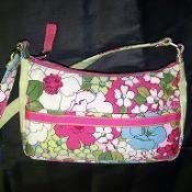 Small Chic Zip Handbag pdf pattern - via @Craftsy