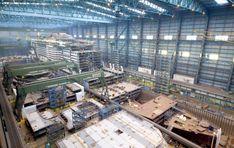 Construction du Quantum of the Seas - Meyer Werft