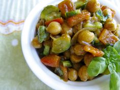 Insalata di ceci balsamica – Vegan blog – Ricette Vegan – Vegane – Cruelty Free