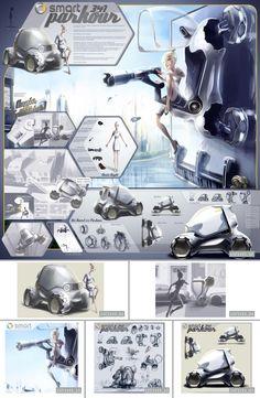 Smart 341 Parkour - LA Design Challenge