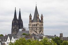 Köln - Colonia. Vista de la torre de la catedral