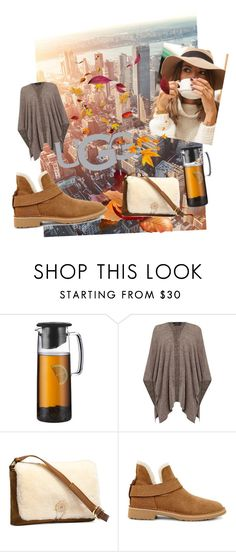 """UGG Autumn New York Break"" by anna-de ❤ liked on Polyvore featuring Bodum, Oui, UGG Australia and UGG"
