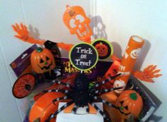 Kids Craft Halloween Gift Basket by cappelloscreations on Etsy, $40.00 @etsy