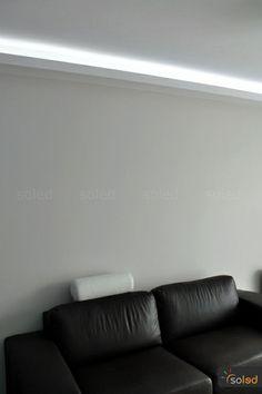 Oświetlenie sufitowe LED w kawalerce