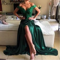 Cheap 2017 Emerald Green Maxi Prom Dress High Quality Bright Girls Off Shoulder Women Long Formal Evening Party Gown Plus Size Vestidos De Festa As Low As $637.07, Also Buy Prom Dress Designers Prom Dress Shop From Linda_wedding  Dhgate Mobile