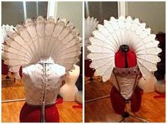 Esther Elizabethan wired ruff collar tutorial pt.1 by ...