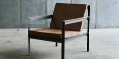 Fauteuils acier - fauteuils en metal - Fauteuil Ironcargo