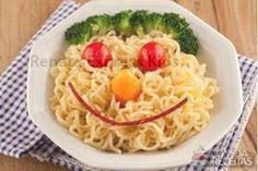 Renata express kids recipe in pasta recipes, see this and other recipes here! Cute Food, Good Food, Yummy Food, Toddler Meals, Kids Meals, Baby Food Recipes, Healthy Recipes, Food Art For Kids, Art Kids