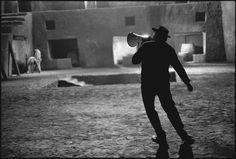 "Federico Fellini on the set of ""Satyricon"", 1969 | Mary Ellen Mark"