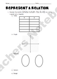 So you have to teach Graphing Linear Equations?!Guided notes & Practice for clear step-by-step instruction