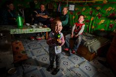 Photo of the Week #16: Nomadic family fun - Nomadic life on the grasslands of Choibalsan, Mongolia.           East Asian Peoples  Member since 2011  Taken on June 3, 2012  Add this photo to your map!  Nikon D7000  50 V...