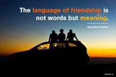 The Language of Friendship... - American Greetings Blog