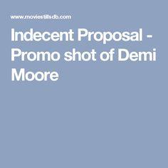 Indecent Proposal - Promo shot of Demi Moore