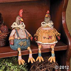 Dangle Leg Chickens