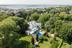 Built in 1854, this historic mansion on 5.27 acres is in the center of town and listed for $8.5 million.