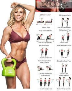 How would you like scrumptious, sculpted shoulders? Well, guess what? In this article we are showing you the exercises that benefit and will give you beautifully shaped shoulders to match you beautifully shaped physique. Fitness Workouts, Exercise Fitness, At Home Workouts, Fitness Motivation, Health Fitness, Lower Ab Workouts, Physical Fitness, Weight Lifting Motivation, Dumbbell Workout