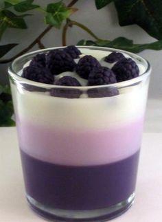 Blackberry Vanilla - Purple n White Temptations by Remya Hariharan on Etsy