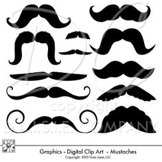 1000+ images about Moustache, lips, hats, glasses on ...