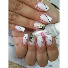Em Nails, Wedding Manicure, Gorgeous Nails, French Nails, Pedicure, Nail Designs, Nail Art, Hair, Light Nails