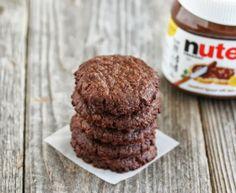 3 Ingredient Eggless Nutella Cookies   Kirbie's Cravings   A San Diego food blog