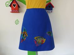 Miss Fish in the Sea (Size S / 36) Skirt A-line