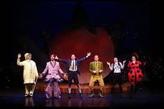 Image result for roald dahl stage james and giant peach