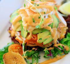 Prawn And Avocado Salad With Yuzu Mayonnaise