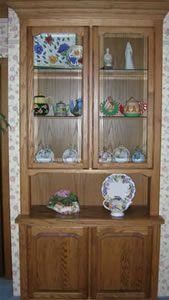 Wood China Cabinet tutorial