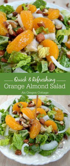 recipe: mandarin orange almond salad dressing recipe [15]