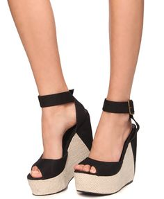 Forever21 wedges I would totally wear