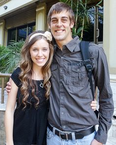 Jill Duggar    Credit: TLC       John-David Duggar   Jessa Duggar              6 of 14     John-David Duggar     Jessa Duggar    .    	          Go to Comments   .    ..        Jill Duggar     Jill had her very first kiss in June 2014 at age 23 when she married Derick Dillard, her dad's former prayer partner.  Two months after their wedding, Jill announced the couple is pregnant with their first child