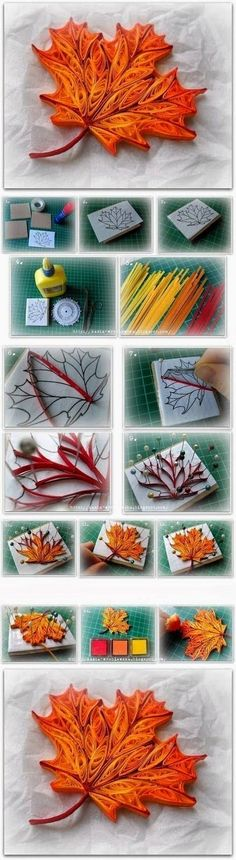 What is quilling; Guide structures quilling + 45 great ideas!
